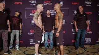 UFC Newark: Weigh-in Faceoffs