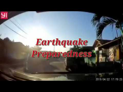How to be prepare in earthquakes(project)(taglish)