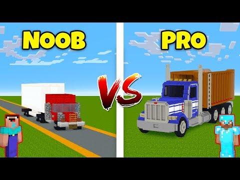 Minecraft NOOB vs. PRO: TRUCK in Minecraft! AVM SHORTS Animation thumbnail