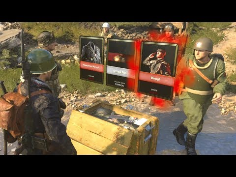 COD WWII: Supply Drops & How They Work!