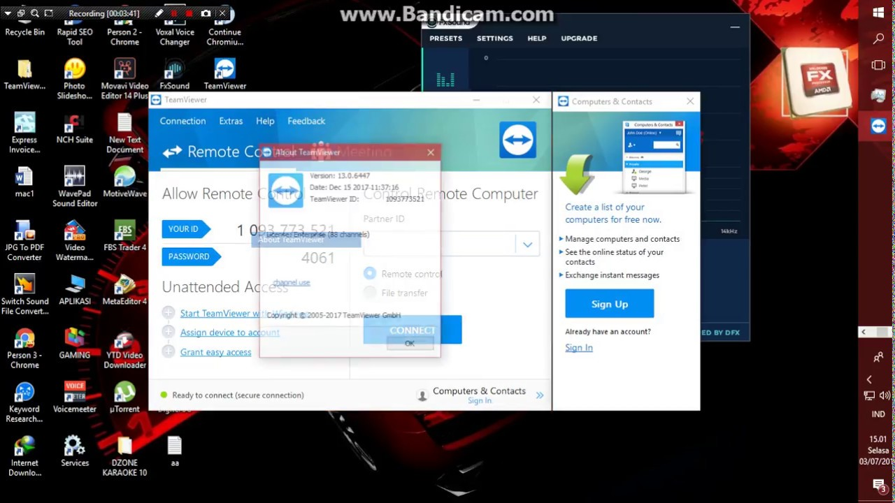 Cara Menangani Teamviewer Commercial Use Suspected Team Viewer Expired Cr4ck Teamv1ewer Youtube