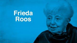 Frieda sobrevivió al Holocausto y halló paz después de la II Guerra Mundial | Testimonios Judíos