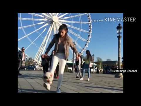 New Best Amazing Freestyle Football By Beautiful Girl 001