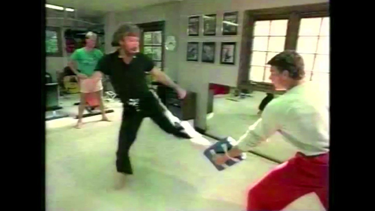 Download VAN DAMME and CHUCK NORRIS - Martial Arts Training (1984)