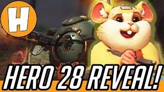 Overwatch - Hammond the HAMSTER Confirmed! Hero 28 PTR Today? | Hammeh
