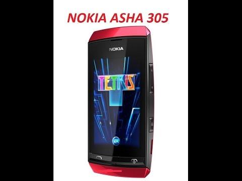 Install OS on Nokia Asha 305