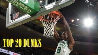 Jeff Green (Boston Celtics) - Top 20 Dunks - 2012/2013 Mid-season - [HD]