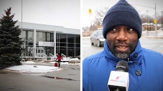 Henry from Uganda describes living conditions in Toronto refugee shelter | David Menzies