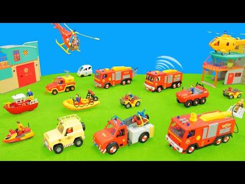 Feuerwehrmann Sam Spielzeug,Spielzeugautos & Feuerwehrautos Der Pontypandy Rettungstruppe Für Kinder