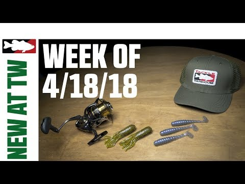 What's New At Tackle Warehouse W. Jake Cotta - 4/18/18