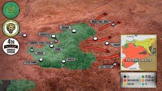 5 марта 2018. Военная обстановка в Сирии. Сирийская армия прорвала оборону боевиков в Восточной Гуте