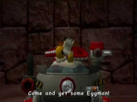 Sonic Adventure 2 Battle: Dark Story - Boss - Egg Golem ...