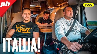 Kako preživeti 4 dana u kamperu? * VLOG do Italije *