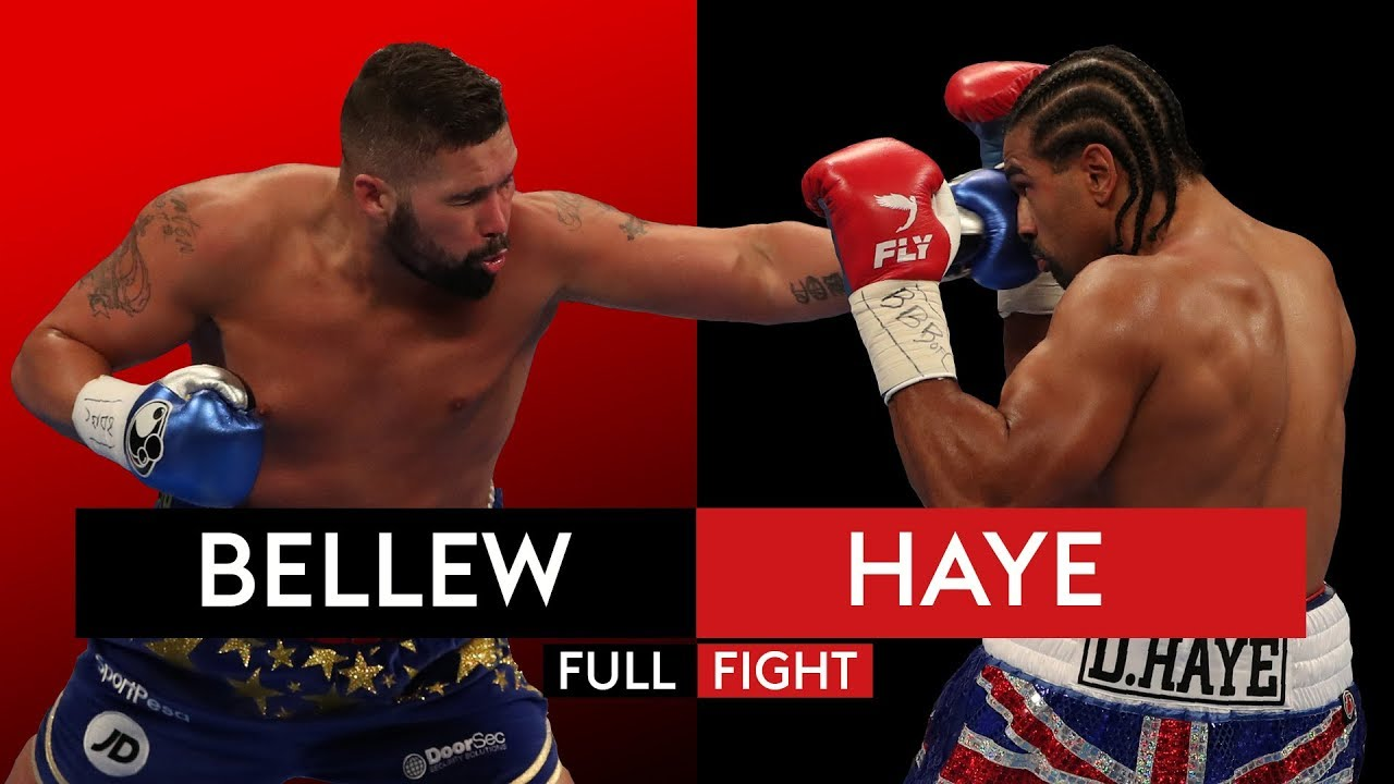 ЦЕЛИЯ МАЧ: Tony Bellew vs David Haye 2