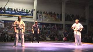 All Russian Championship 2012 heavy weight semi-final 全ロシア大会2...
