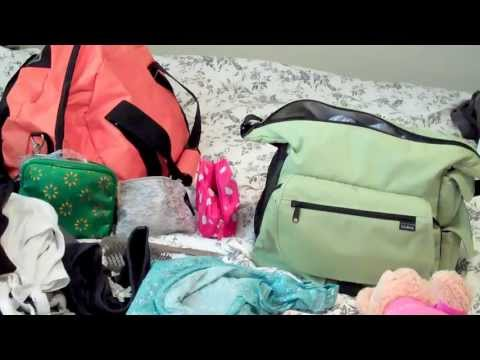 What's in My Hospital & Diaper Bag for Labor & Delivery Travel Video