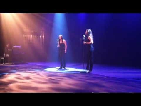 "Christina Johnson and Danielle Gerber- ""Poker Face"""