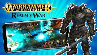 NUEVO WARHAMMER AGE OF SIGMAR REALM WAR 🔥Descarga Android y IOS | Gameplay en Español