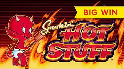 Smokin' Hot Stuff Wicked Wheel Slot - NICE SESSION, ALL FEATURES!