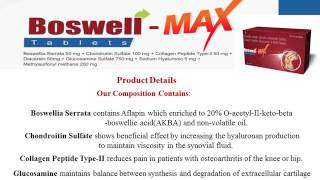 Boswell Max Arthritis Tablets