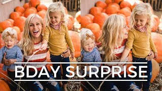 HAILEY'S BIRTHDAY SURPRISE! || Devine Family Vlog