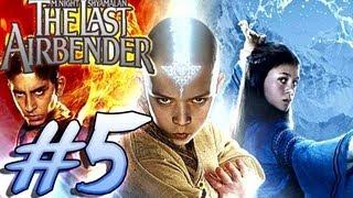 The Last Airbender (Wii) Avatar Game Walkthrough Part 5 [M. Night Shyamalan movie] 5/16