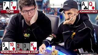 TOP 7 BIGGEST POTS in $5/$10 Cash Game | JohnnieVibes, winopoker, Xuan, Novocaine, Ramsey, Taylor