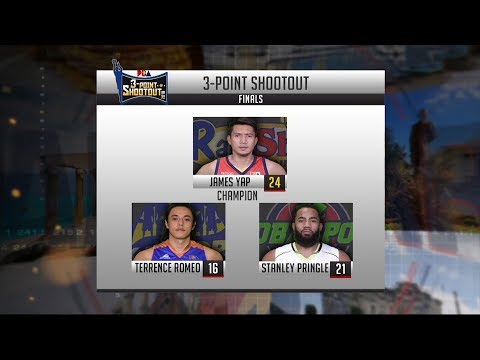Highlights: 3-Point Shootout Final Round | PBA All-Star 2018