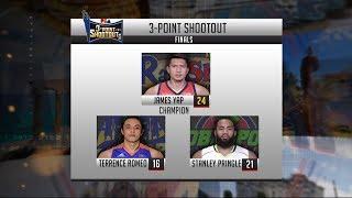 Highlights: 3-Point Shootout Final Round | PBA All-Star 2018