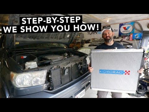 How To Replace a Toyota Tundra Radiator
