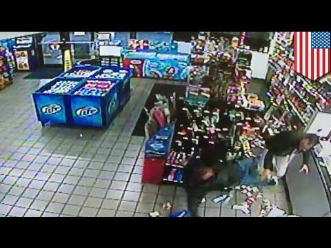 Fuel Zone clerk 'Mustafa' takes down armed criminal Jimmy Rogers in New Orleans