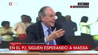 04-06-2019 - Carlos Heller en C5N – M1, con Sylvestre – ¿Colectoras en provincia de Buenos Aires?