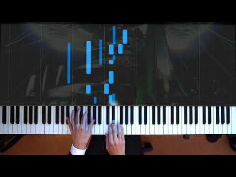 Final Fantasy VIII Blue Fields - Piano + Synthesia + Improv
