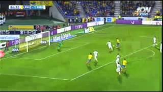 Willian José Goal vs Real Madrid - Las Palmas 1 - Real Madrid 1 - 13/03/2016