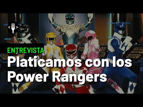 Entrevista con los Power Rangers originales