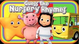 Name The Nursery Rhyme/Kids Songs - Fun Challenge For Kids!