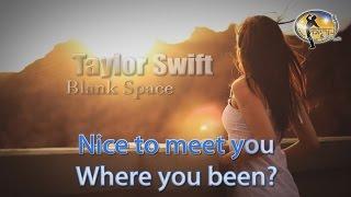 Taylor Swift - Blank Space (Karaoke Version) HD