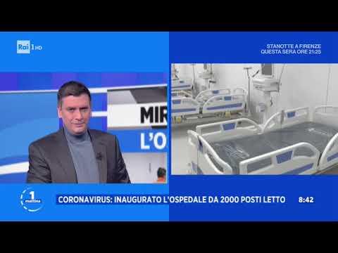 Miracolo a Milano: l'ospedale dei record - Uomattina 01/04/2020