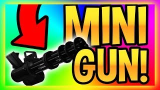 MAD CITY - HOW TO GET MINI GUN AND ARMOR (NEW SEASON?) - Roblox