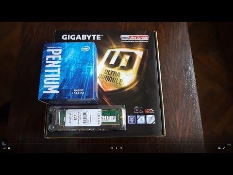 Intel Pentium G4560 Budget Gaming PC