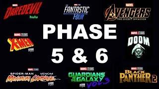 Avengers Secret Wars Phase 5 Crossover   Fantastic Four, X-Men, Venom 3 & Deadpool Leaks MCU Phase5