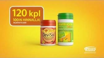 Vitamiinikampanja 120 tbl. tv-commercial