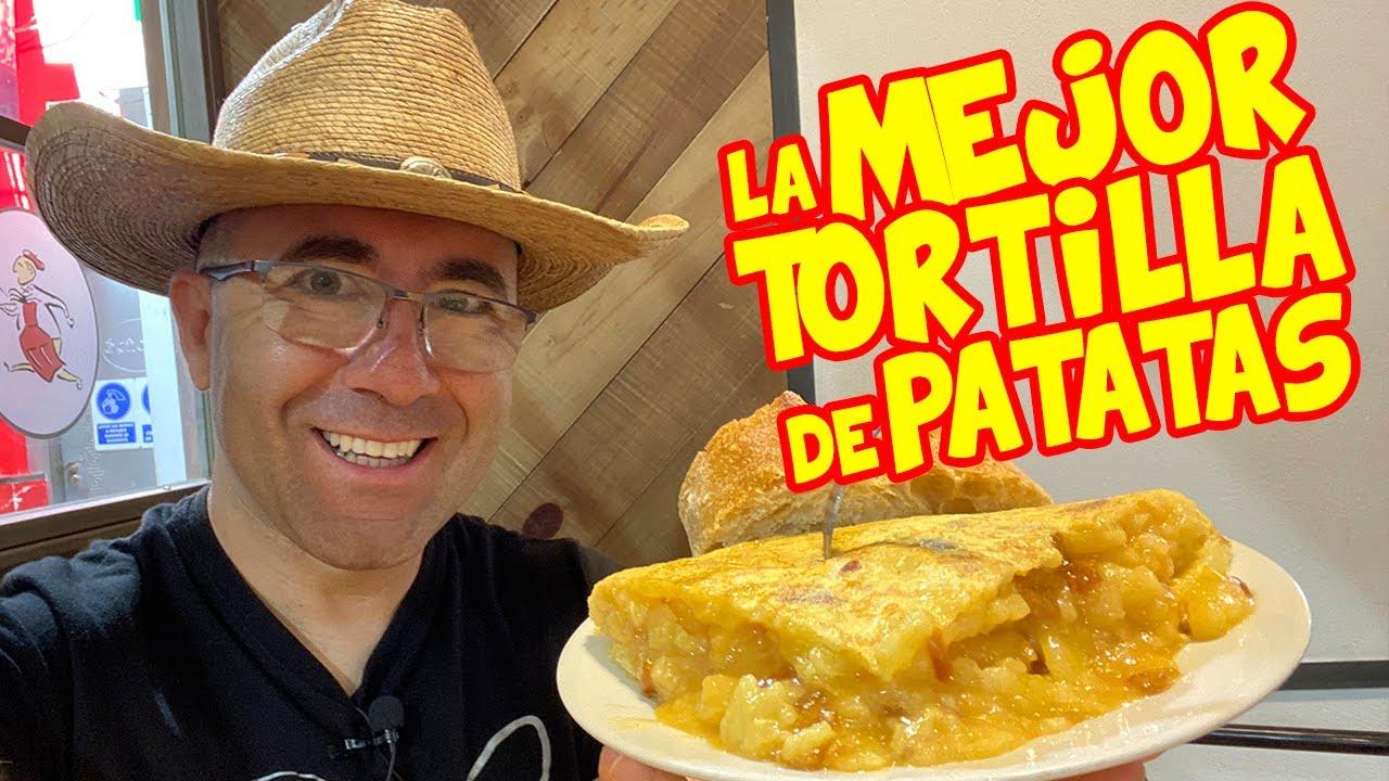 Probando la MEJOR TORTILLA de PATATAS de ESPAÑA 2019 - Casa Dani