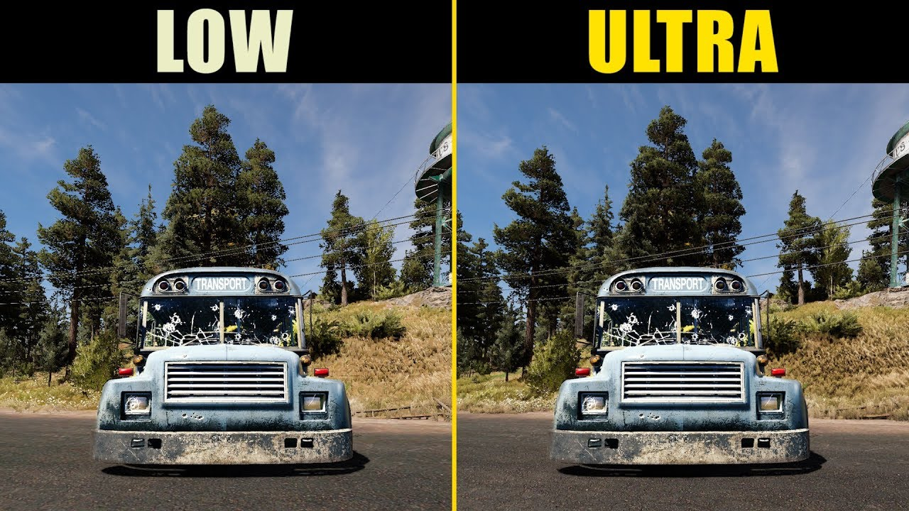 Far Cry 5 Low vs. Ultra (Graphics Comparison)