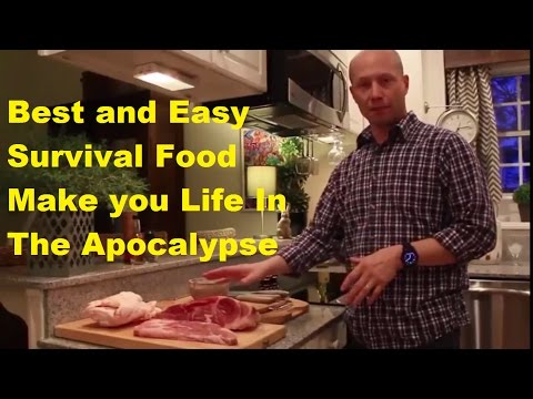 Best and Easy Survival Food Make You Life in The Apocalypse