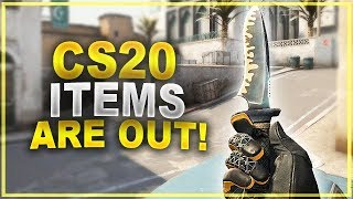 CS:GO UPDATE - THE CS20 ITEMS & SKINS ARE OUT!!