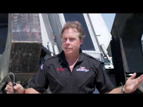 ROBOSAURUS: SALINAS AIRSHOW 2009 SUNDAY POST SHOW INTERVIEW