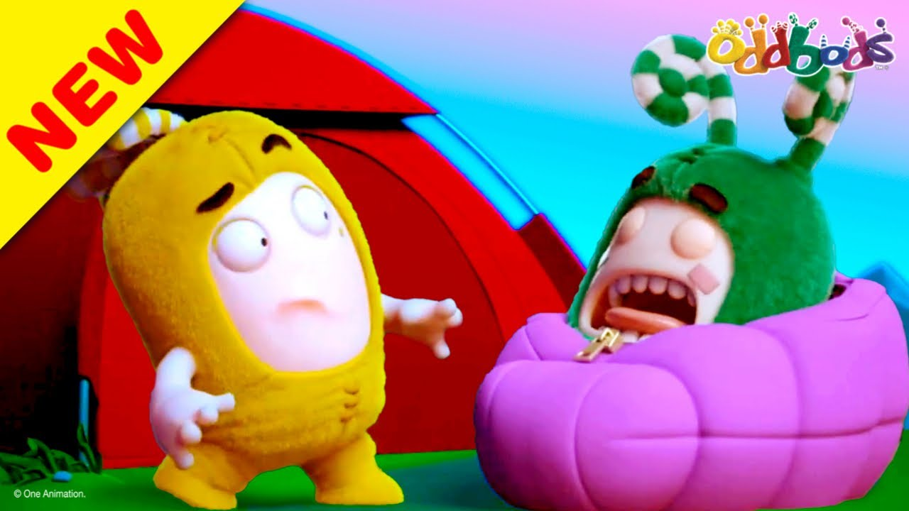 Oddbods | NEW | SUMMER CAMP | Funny Cartoons For Kids