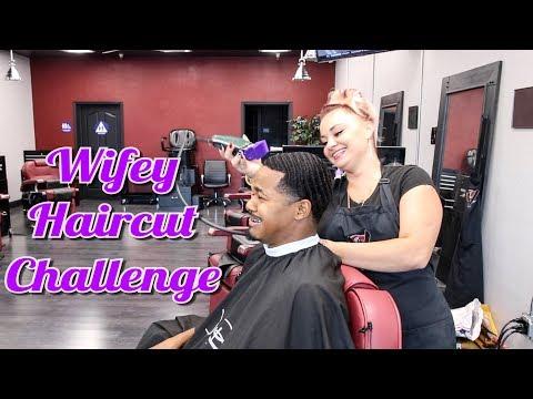 MY WIFEY HAIRCUT CHALLENGE