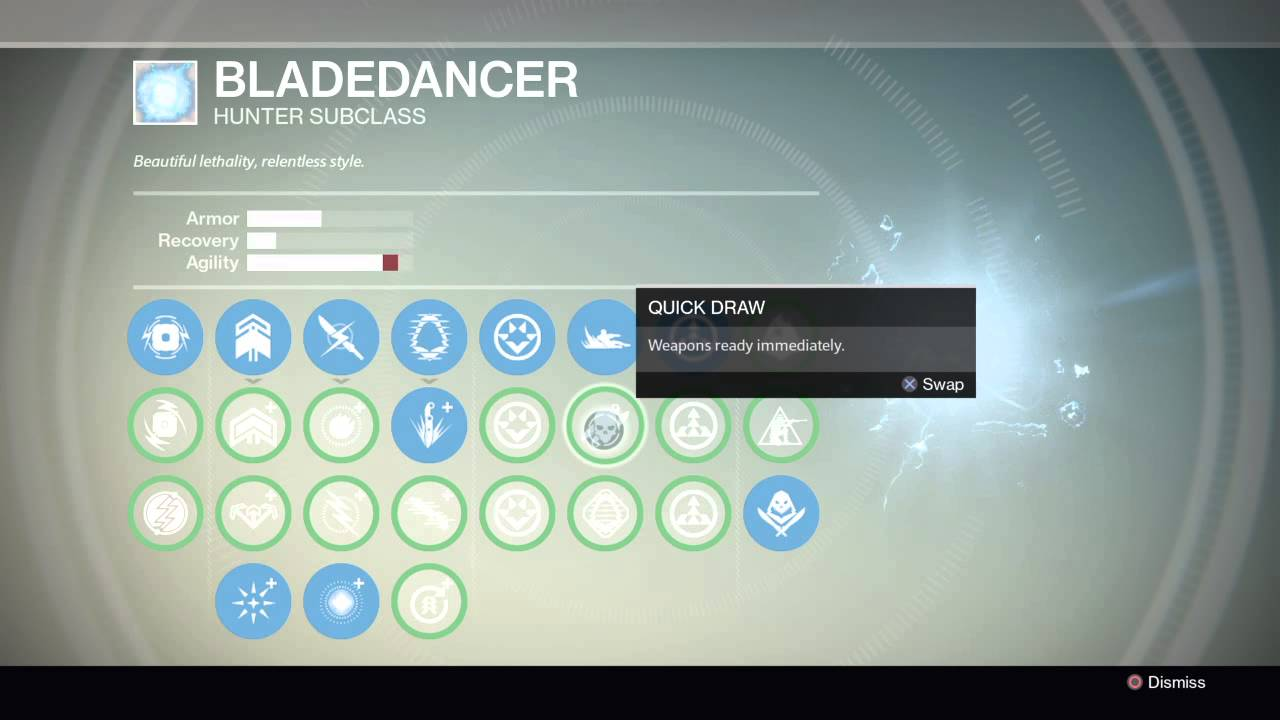 destiny how to get bladedancer